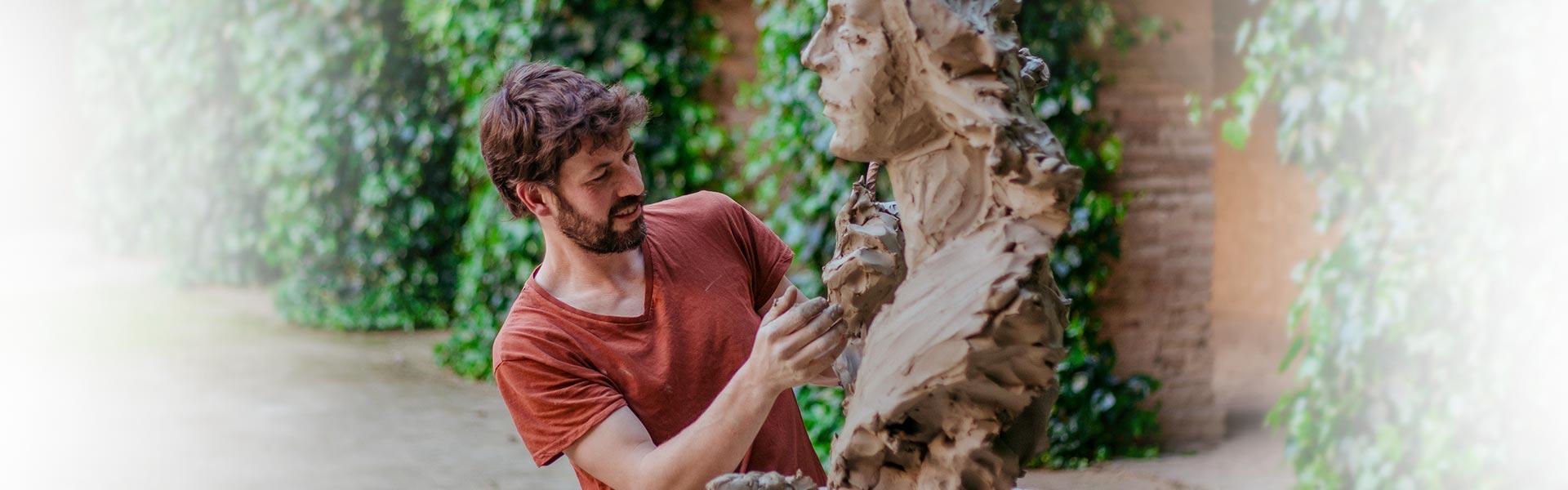 Martín Lagares - Escultura