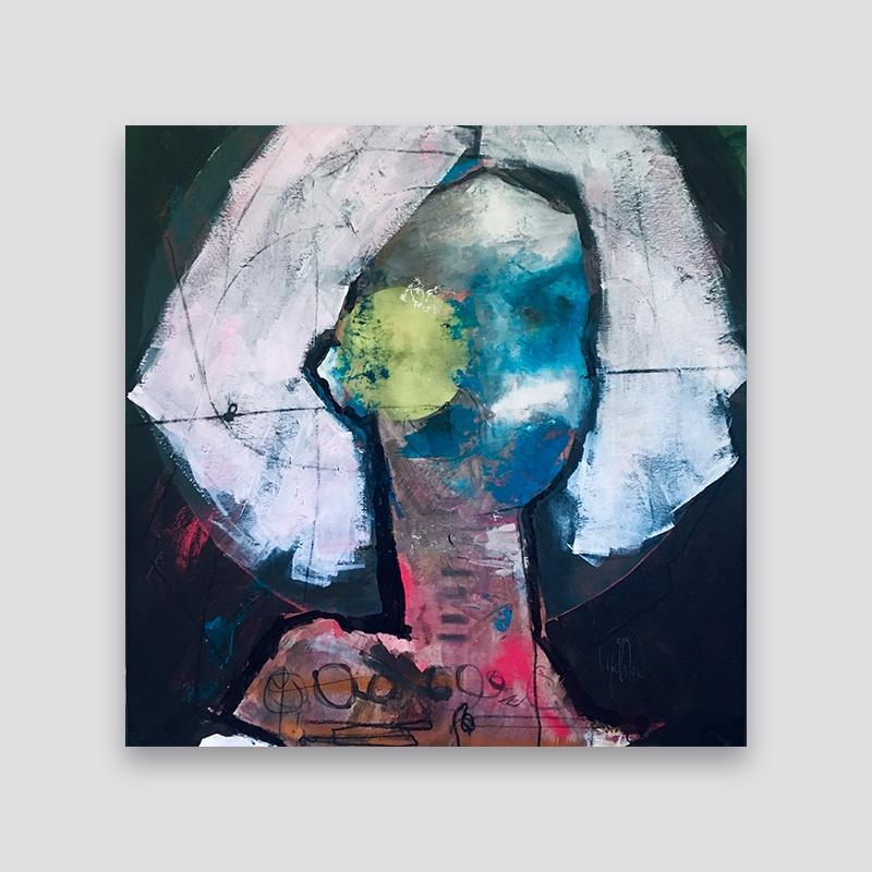 Pintura - Erick Alcántara - Corpúsculo