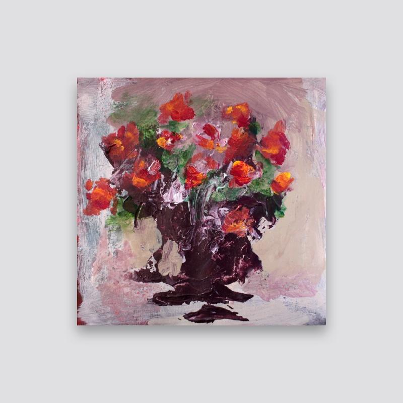 Pintura - Flores - Erick Alcantara