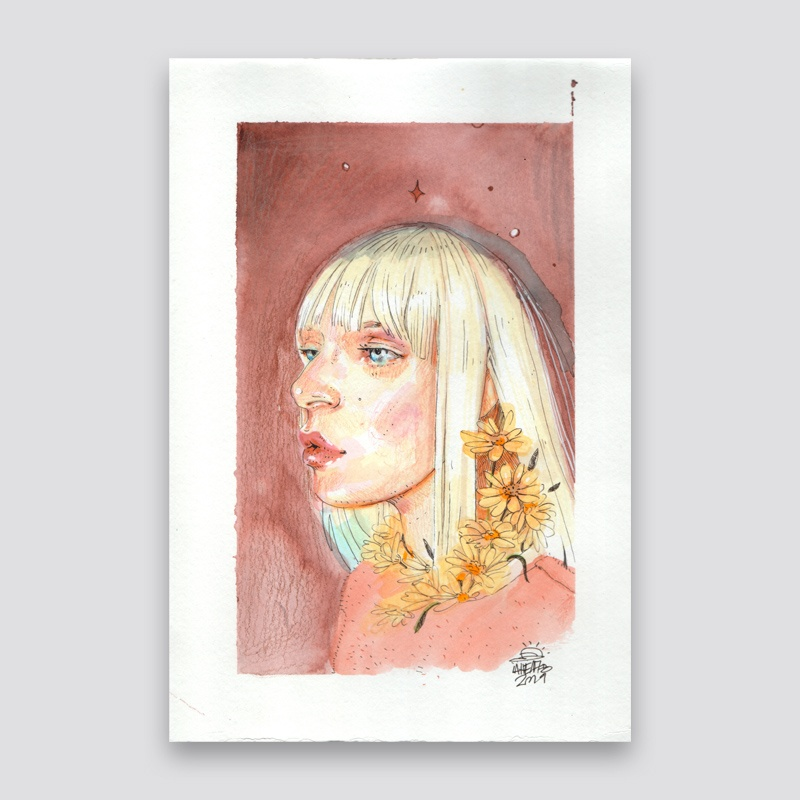 Una Musa Cualquiera Ana Langeheldt Magase Art Gallery