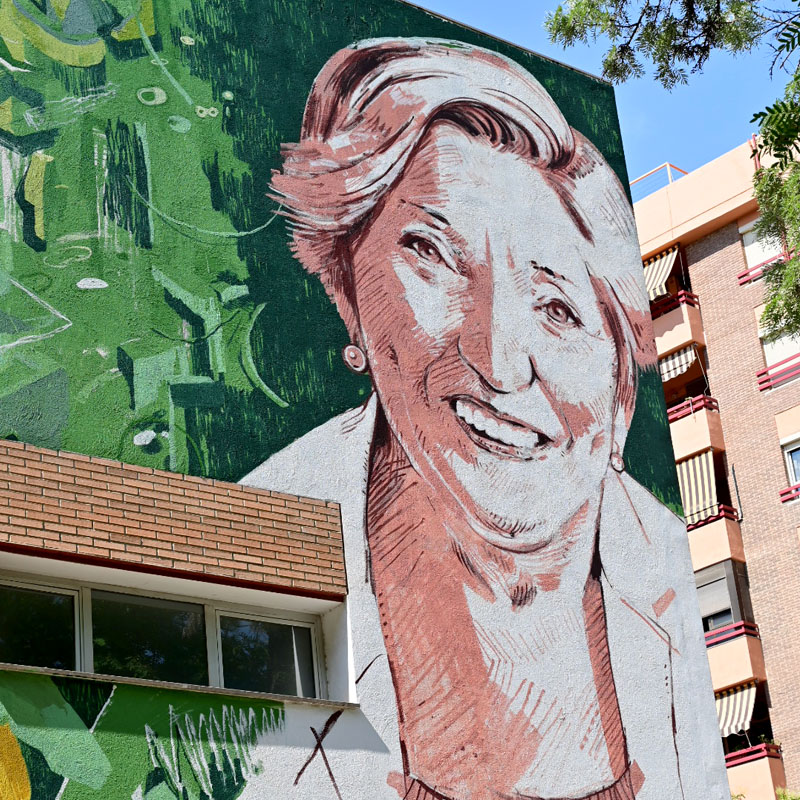 Mural Ana Langeheldt Magase Art Gallery